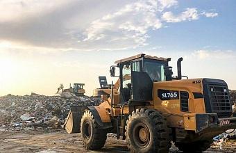 Мусороперерабатывающий полигон в Белореченском районе модернизировал сортировку отходов