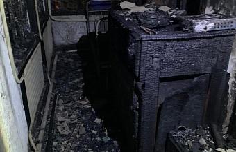 Под Горячим Ключом при пожаре в доме погиб 66-летний мужчина