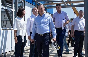 Юрий Бурлачко и Иван Демченко провели в Анапе прием граждан