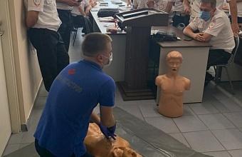 На Кубани инспекторов ДПС обучают оказывать первую помощь при ДТП
