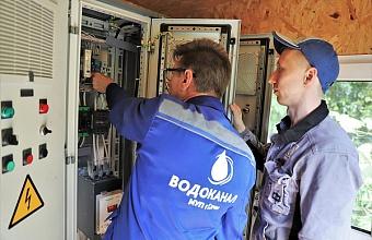 Новое оборудование устанавливают на насосных станциях Сочи