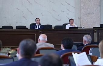 Поправки в краевое земельное законодательство рассмотрели депутаты ЗСК