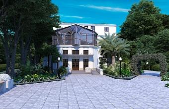 В историческом здании ЗАГСа в центре Сочи проводят ремонт