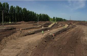 Археологи обследуют 59 тыс. кв. м на месте строительства Дальнего Западного обхода Краснодара