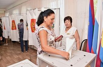 Стартовал прием документов для регистрации кандидатов на должность главы Кубани