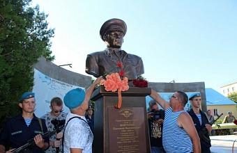 Памятник Василию Маргелову открыли в Анапе