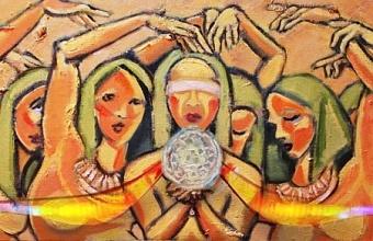 Новая онлайн-выставка художницы Натан посвящена всемирному дню без ядерного оружия