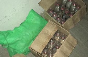 В Армавире изъяли 54 тыс. литров незаконного алкоголя