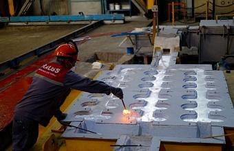 В Крымском районе завершили первый этап строительства лифтостроительного завода