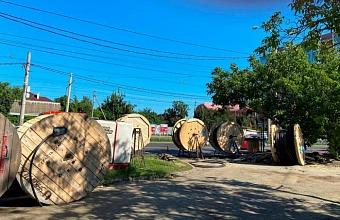 В Краснодаре начали модернизацию электросетей