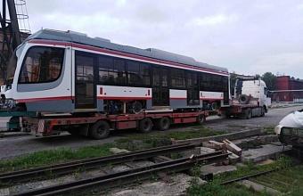 Десятый трамвай из партии этого года прибыл в Краснодар