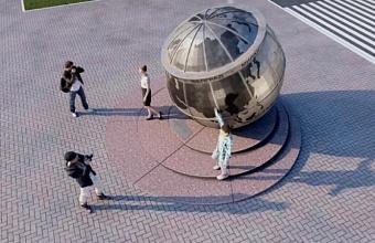 Скульптура «45 параллель» в Краснодаре откроется 18 августа