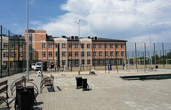 Школу на 1 550 мест строят в Новороссийске