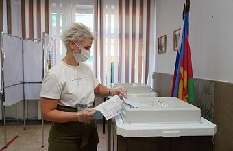 Явка на выборах на Кубани превысила 58%