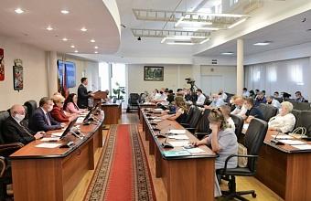Новый состав Гордумы Краснодара VII созыва утвержден