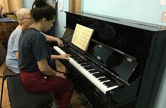 Музыкальные инструменты получила Гулькевичcкая детская школа искусств
