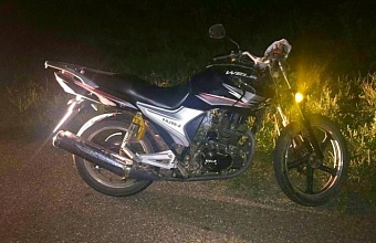 На Кубани столкнулись два мотоцикла с подростками