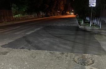 В Краснодаре за две недели сделали ямочный ремонт на восьми улицах