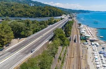 В Сочи досрочно завершили ремонт моста через реку Агура