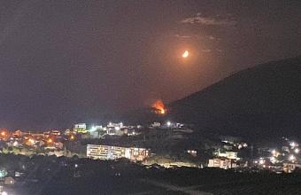 В Новороссийске  на горе Колдун потушили лесной пожар