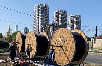 Модернизацию электросетей завершили в ЮМР Краснодара