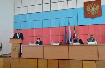 В отставку ушел глава Щербиновского района