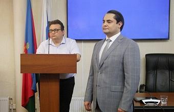 Юрий Былино стал начальником управления муниципального контроля Краснодара