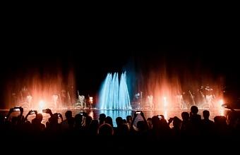 В Абрау-Дюрсо представят новую программу шоу фонтанов