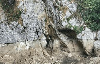 В Сочи пересох Агурский водопад