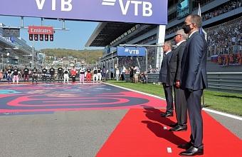 Губернатор посетил «Формулу 1» в Сочи