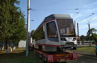 Двадцатый трамвай из партии этого года прибыл в Краснодар