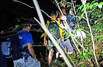 Появились подробности о потерявшейся в лесу Сочи тургруппе с детьми