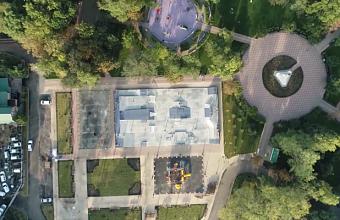 Новый скейт-парк открылся в Вишняковском сквере Краснодара