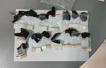 В Краснодаре задержали наркосбытчиков с мефедроном и амфетамином