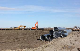 На Кубани снова приступили к реконструкции Троицкого группового водопровода