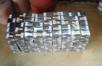 В Сочи пограничники обнаружили в автомобиле тайник с 1200  пачками сигарет