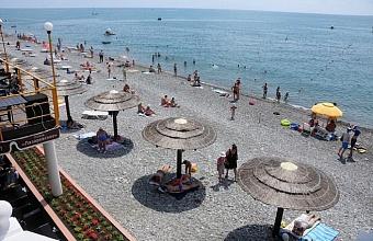 В Туапсинском районе отдыхают около 13,5 тыс. туристов