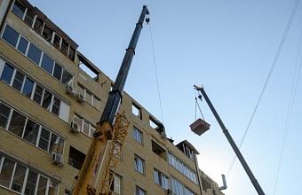 Жители пострадавшего дома по ул. Российской в Краснодаре начали получать компенсации