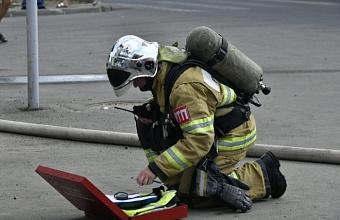 В Геленджике произошел пожар в жилом доме