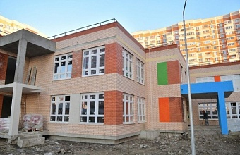 Детсад по ул. Калинина в Краснодаре готов на 75%