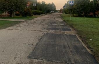 В Краснодаре за две недели сделали ямочный ремонт на десяти улицах