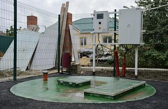 Новую сеть хозяйственно-бытовой канализации ввели в эксплуатацию в Краснодаре