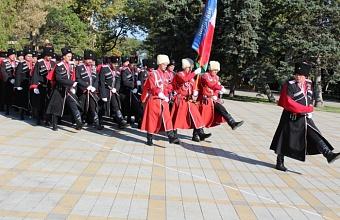 Как в Анапе отпраздновали День образования Кубанского казачьего войска