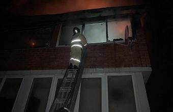 В Сочи горели второй этаж и мансарда частного дома