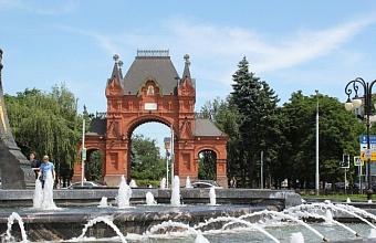 В центре Краснодара планируют создать пешеходный квартал