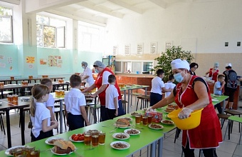 В Краснодаре обсудили качество и безопасность школьного питания в крае