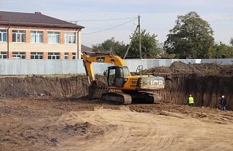 На строительство детского сада в Динском районе выделили более 167 млн рублей
