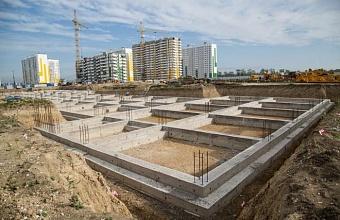 В микрорайоне «Горгиппия» Анапы строят школу на 1 550 мест