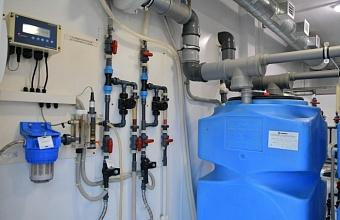 В пос. Российском Краснодара реконструировали водопроводно-насосную станцию
