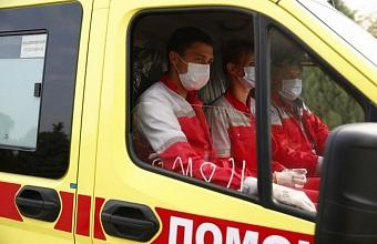 Новые реанимобили получили районные больницы Краснодарского края